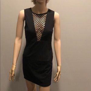 LF Seek The Label Black Caged Dress